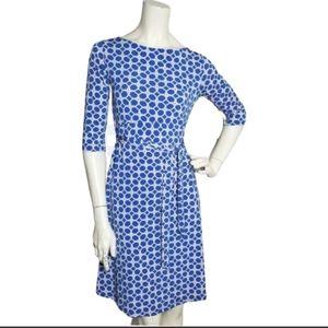 NEW Leota Women's Casual Dress Blue Knit